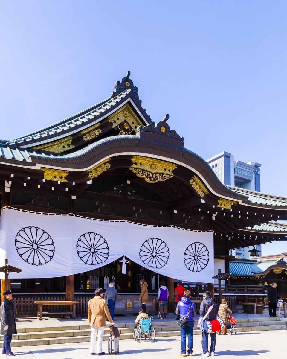 靖国神社 撮影:建築写真・竣工写真の齋藤写真事務所